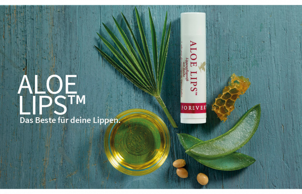 Aloe Lips™ - Aloe Vera Lippenstift