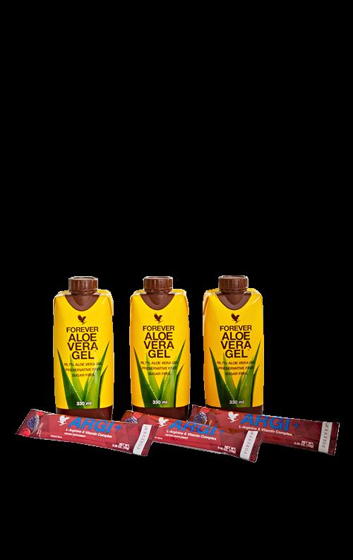 330ml Forever Aloe Vera Gel™ & Argi+® Tripack