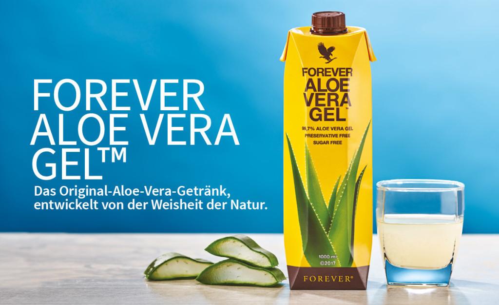 Forever Aloe Vera Gel als Drink