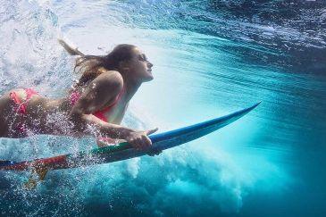 ALOHA: FITNESS SUR LE SURF!