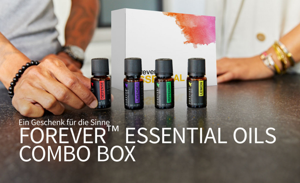Forever™ Essential Oils Combo Box