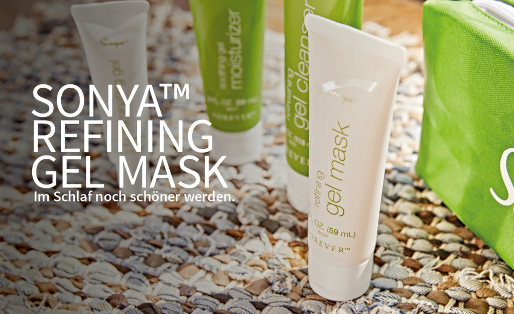 Sonya™ refining gel mask